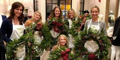 Holly Jolly Wreaths At El Sarape with Alices Tabl