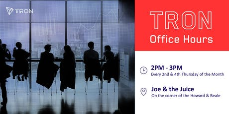 TRON Office Hours tickets