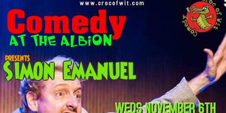 Comedy at The Albion Presents Simon Emmanuel tickets