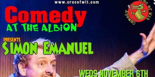 Comedy at The Albion Presents Simon Emmanuel