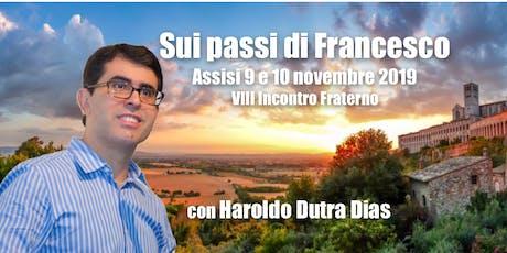 SUI PASSI DI FRANCESCO biglietti