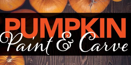 Pumpkin Paint & Carve Event