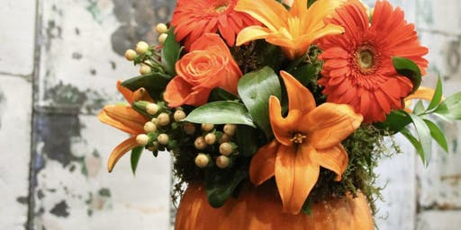 Pumpkins, Petals and Cocktails with Alice's Table