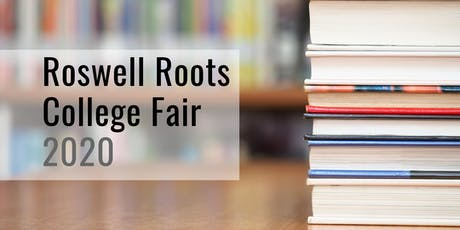 Roswell Roots 2020 College Fair: RECRUITER REGISTRATION tickets