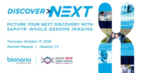 Bionano Genomics Events at ASHG 2019