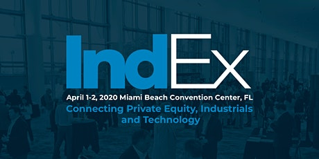 IndEx 2020 presented by Industrial Exchange tickets