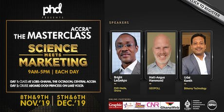 The Masterclass Accra tickets