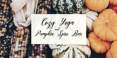 Cozy Yoga + Pumpkin Spice Bar