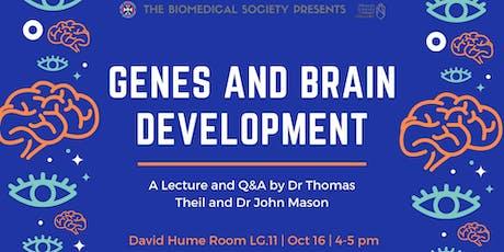Genes and Brain Development tickets