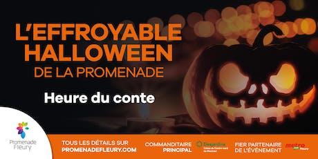 L'effroyable Halloween de la Promenade : Heure du conte billets