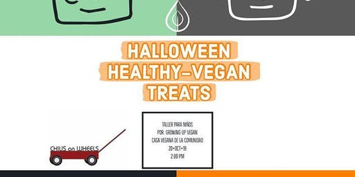 Halloween Healthy-Vegan Treats Taller para Niñxs