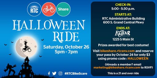 RTC Bike Share Halloween Ride