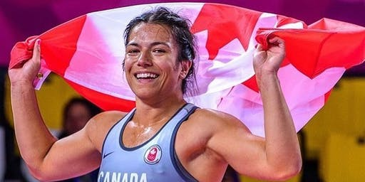 Indigenous Youth Wrestling Clinic with Justina Di Stasio