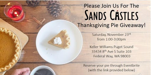 Second Annual Thanksgiving Pie Giveaway