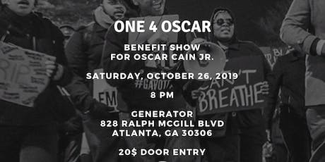 All Rappity Raps Presents: One 4 Oscar (Benefit Show For Oscar Cain) tickets
