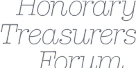 Honorary Treasurers Forum: 21 November 2019  tickets