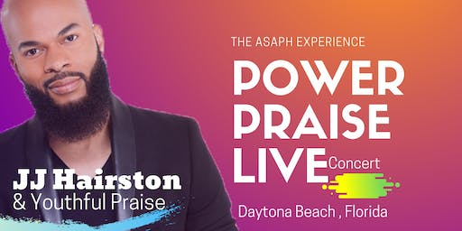 JJ Hairston  Live - Power Praise & Christian Expo Daytona Beach