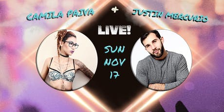 Camila Paiva & Justin Mercurio Live at Bills Bar tickets