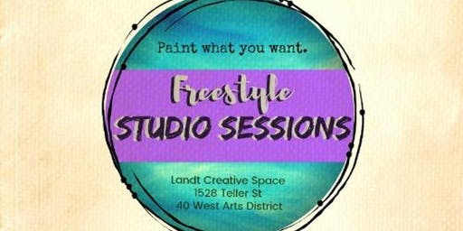 Freestyle Studio Session - Paint What You Want in Lakewood