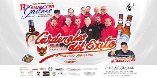 11vo Amanecer Gaitero con Los Cardenales del Exito