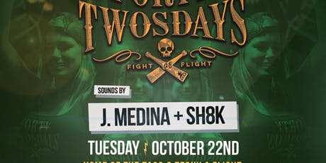 Forty-Twosdays with J. Medina and Sh8k at El Chingon Free Guestlist - 10/22/2019 tickets