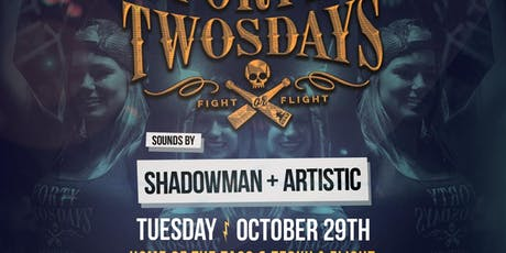 Forty-Twosdays with Shadowman and Artistic at El Chingon Free Guestlist - 10/29/2019 tickets