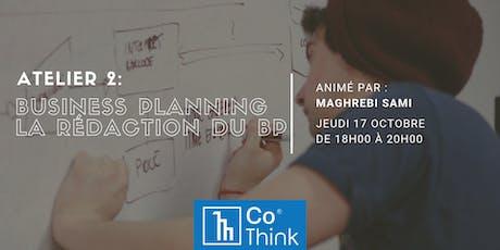 Atelier : comment établir et maintenir un Business Plan billets
