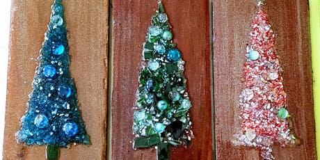 Glass and Resin Christmas Tree Workshop tickets
