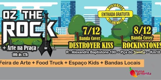 EVENTO CANCELADO!!!!!                   OZ THE ROCK + FEIRA DE ARTE