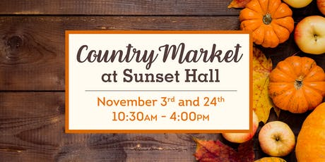 Country Market at Sunset Hall tickets