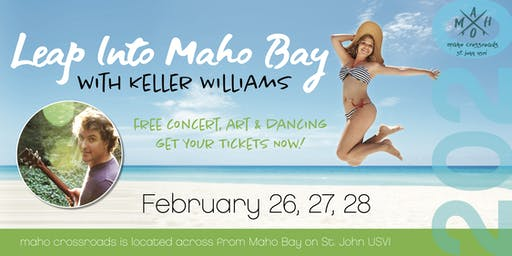Leap Into Maho Bay with Keller Williams