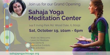 Grand Opening - Sahaja Yoga Meditation Center tickets