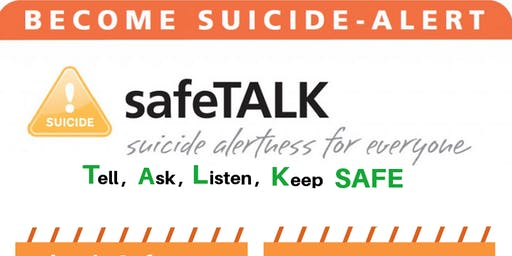 safeTALK Training for youth - Session 1