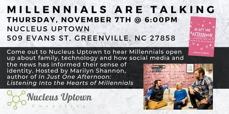 Millennials Are Talking: Panel & Discussion tickets