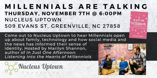 Millennials Are Talking: Panel & Discussion