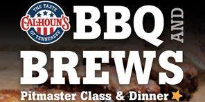 BBQ & BREWS Pitmaster Class and Dinner