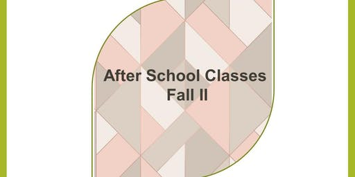 After School Sewing Classes for Kids and Teens, 2019 Fall 2