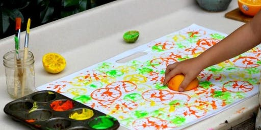 Citrus Printing for Kids