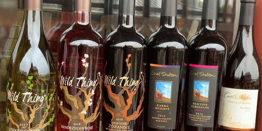 Wild Thing Wine Tasting! featuring the wines of Carol Shelton 10/30