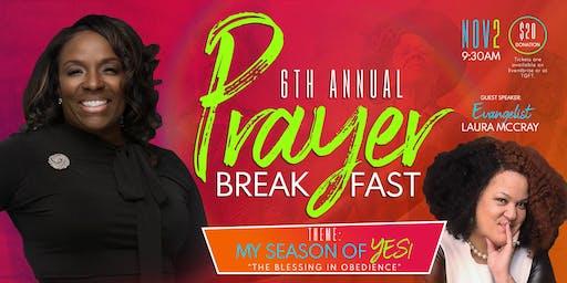 Greater Faith Temple Annual Prayer Breakfast