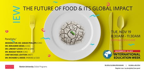 The Future of Food & Its Global Impact tickets
