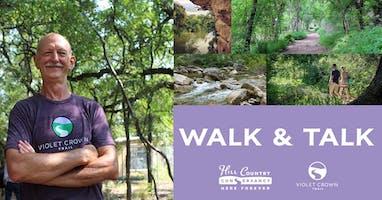HCC Walk & Talk at 290 Trailhead