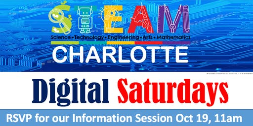 Digital Saturdays Information Session- Please RSVP