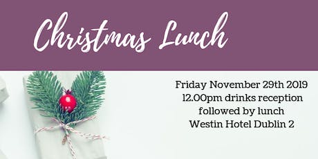 Network Ireland Dublin Christmas Lunch tickets