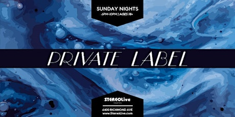 Private Label feat. Surain & Friends - Stereo Live Houston tickets