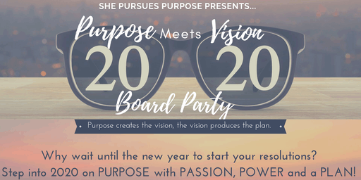 Purpose Meets Vision Board Party