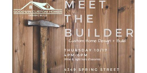 Meet The Builder: Goodwin Custom Homes