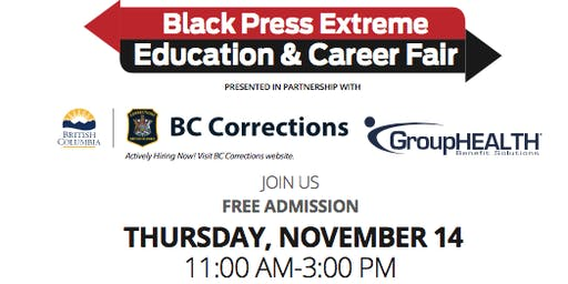 Black Press Extreme Education and Career Fair - Langley