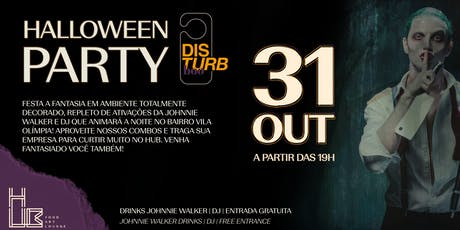 Disturb Boo - Halloween Party - Hotel Pullman Vila Olímpia ingressos