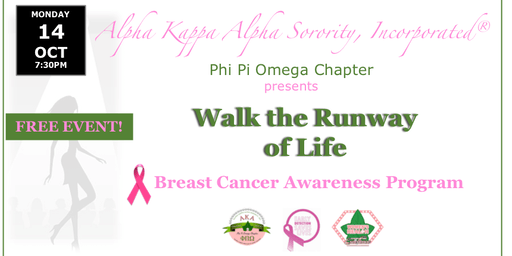 Walk the Runway of Life - A Breast Cancer Awareness Program
